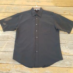 Bugatchi Black/Gray Shirt